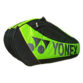 YONEX Sunr 5726 TK BT6 SR Badminton Kit Bag Black and Lime