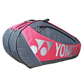 YONEX Sunr 5726 TK BT6 SR Badminton Kit Bag Grey and Rose Pink
